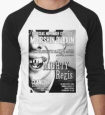 Muirshin Durkin @ Clancy's in Long Beach Featuring The Mighty Regis Men's Baseball ¾ T-Shirt