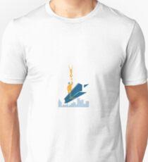 Construction Worker I-Beam Girder Unisex T-Shirt