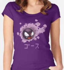 Gastly / Fantominus Pokemon Fitted Scoop T-Shirt