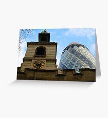GERKIN AND CHURCH  Greeting Card