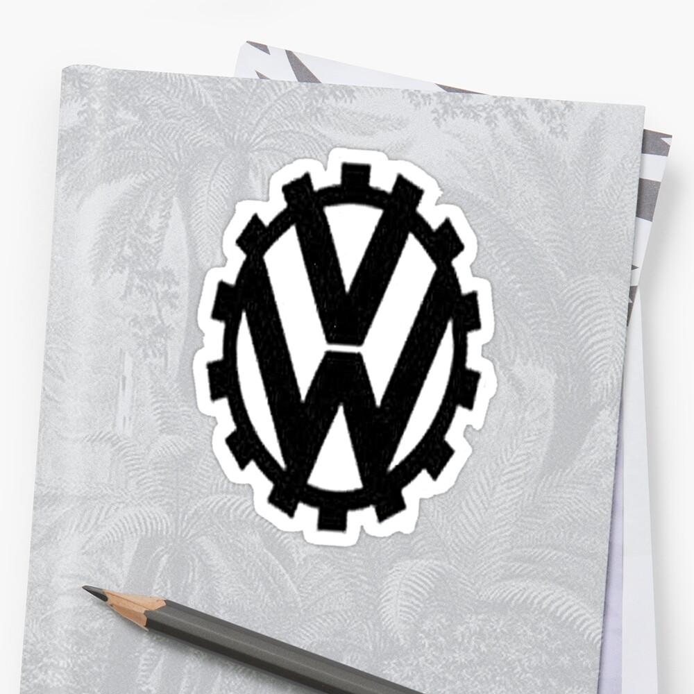 WW2 VW Logo by blanchy