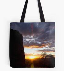 Sculpture Sunset Tote Bag