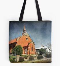 Presbyterian Church at Junee Tote Bag