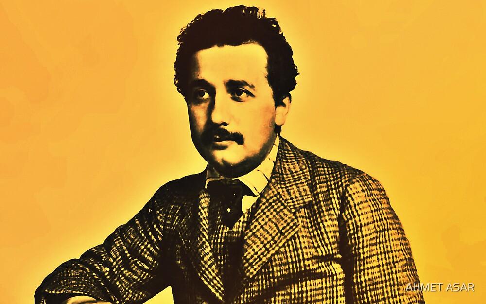 Albert Einstein 1904 in Bern hdr burn by MotionAge Media