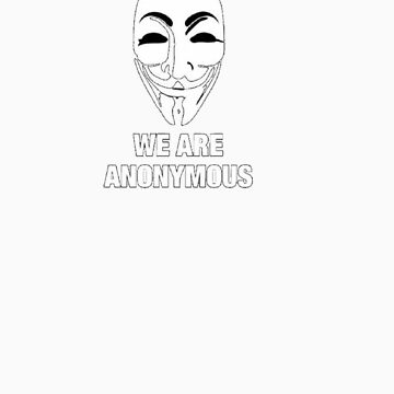 T shirt anonymous ! by cocole02