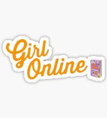 Zoella Girl Online logo and book  Sticker