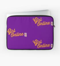 Zoella Girl Online logo and book  Laptop Sleeve