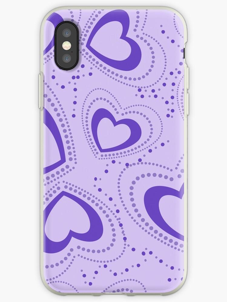 pattern with hearts by Marina Sterina