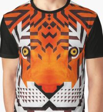 Triangle Tiger Graphic T-Shirt