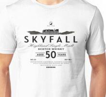 Skyfall Scotch Whisky Black Unisex T-Shirt