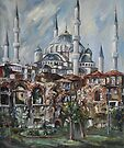 Istanbul - The Blue Mosque by Stefano Popovski