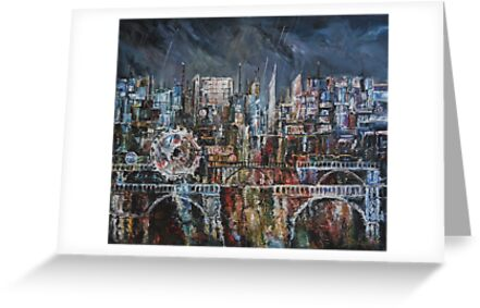 City Lights III by Stefano Popovski