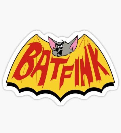 """Batfink - """"My wings are like a shield of steel!"""" Sticker"""