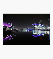 salford quays bbc Photographic Print