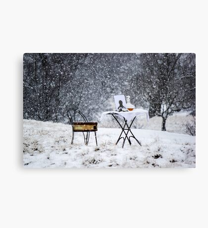 Winters Soliloquy Canvas Print