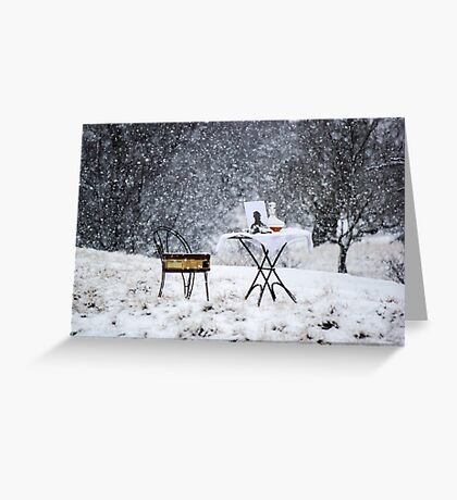 Winters Soliloquy Greeting Card
