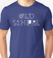 Old School Gamer (White Type) T-Shirt