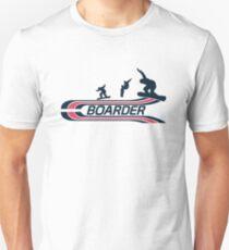 Boarder Unisex T-Shirt