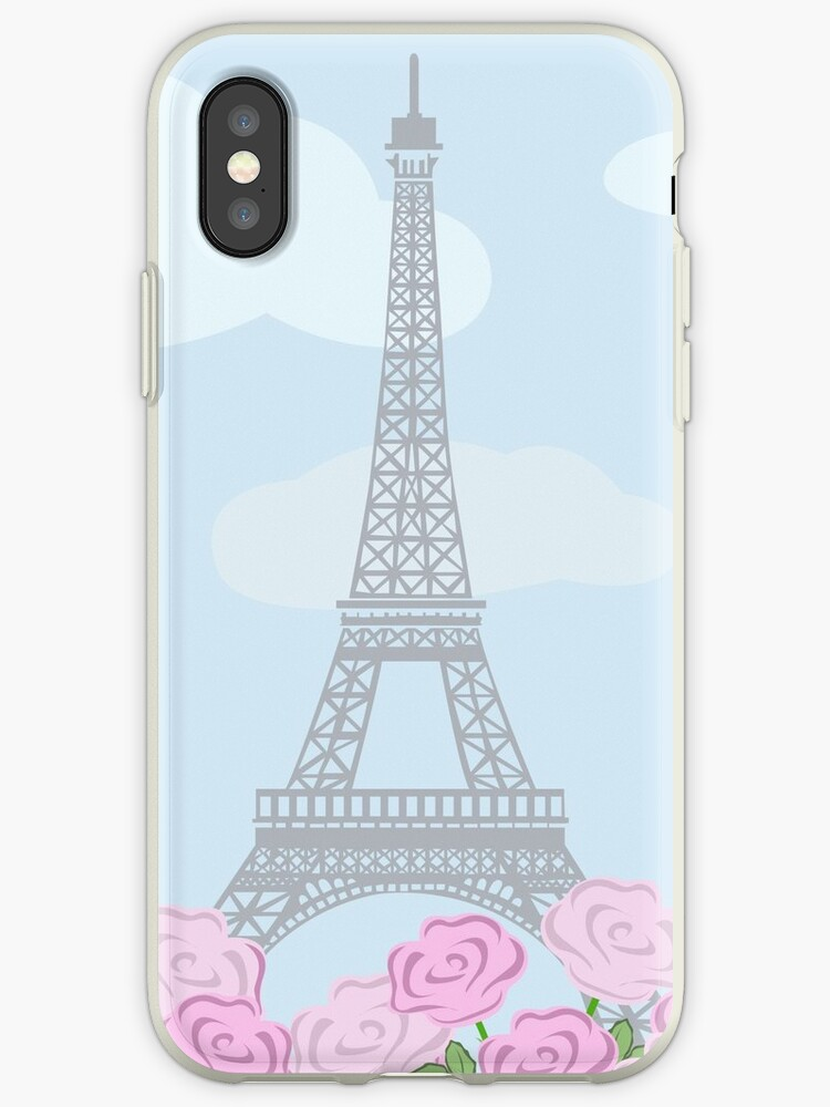 eiffel tower with roses by Marina Sterina