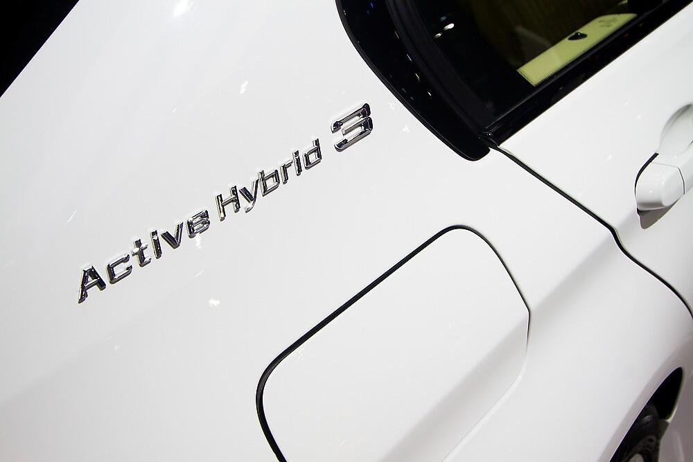 BMW ActiveHybrid 3 M Sport [ Print & iPad / iPod / iPhone Case ] by Mauricio Santana