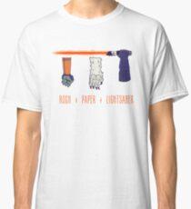 Rock Paper Lightsaber Classic T-Shirt