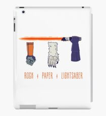 Rock Paper Lightsaber iPad Case/Skin