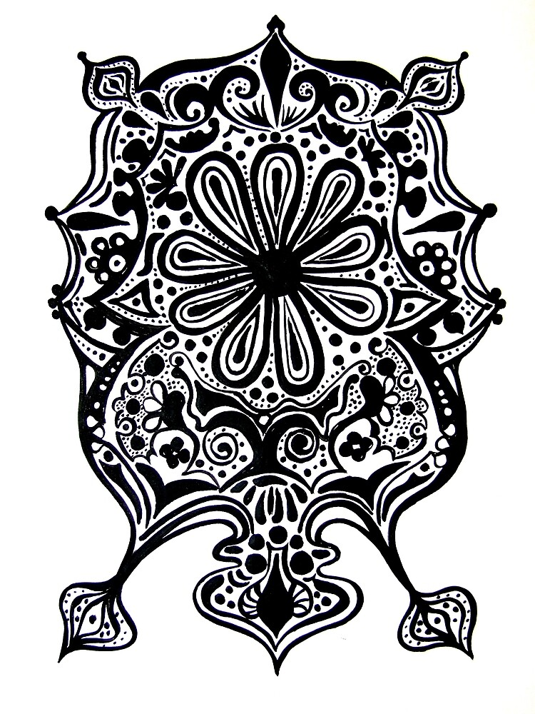 CEM-Black-White-008-Contemporary Ethnic Mix by Pat - Pat Bullen-Whatling Gallery