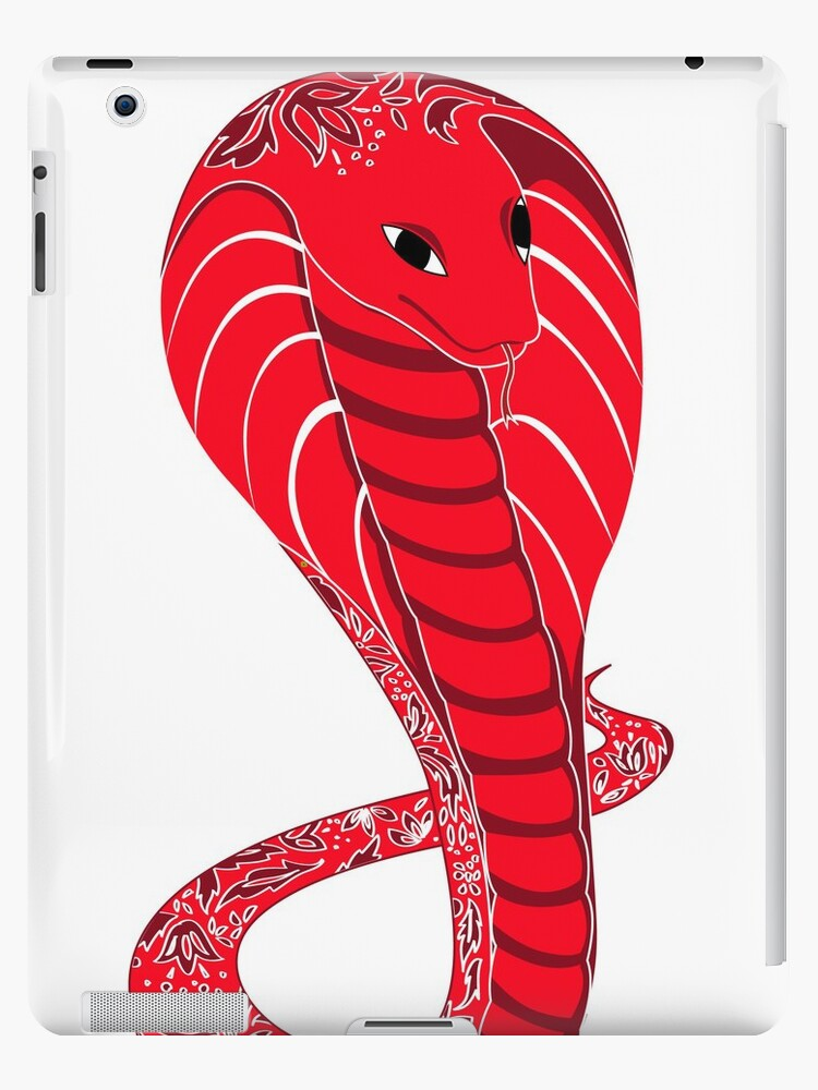 red cobra by Marina Sterina