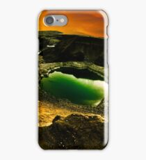 Dead Sea sink holes iPhone Case/Skin