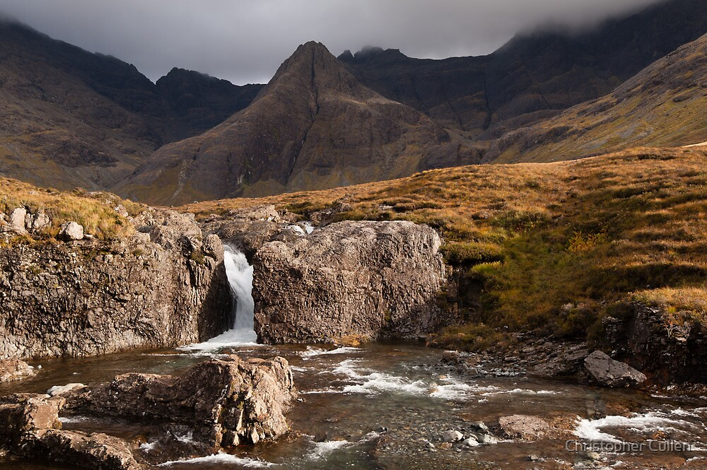 Fairy Pools - Coire na Creiche by Christopher Cullen