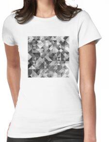 MOON MATRIX Womens Fitted T-Shirt