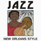 Mardi Gras Jazz by HolidayT-Shirts