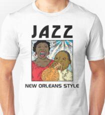 Mardi Gras Jazz T-Shirt