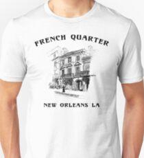 Mardi Gras French Quarter New Orleans Slim Fit T-Shirt