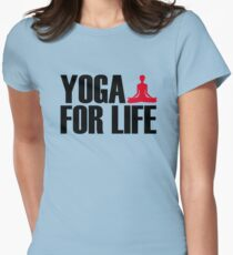 Yoga for Life Womens Fitted T-Shirt