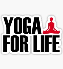 Yoga for Life Sticker