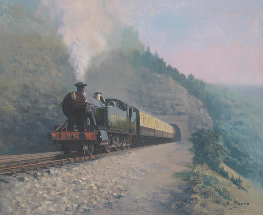 The Vale of Neath Railway by Richard Picton