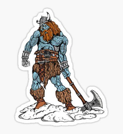 Zombie Viking  Sticker