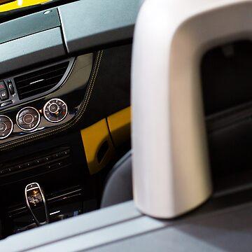 BMW Z4 sDrive20i Pure Impulse Inside [ Print & iPad / iPod / iPhone Case ] by mauriciosantana