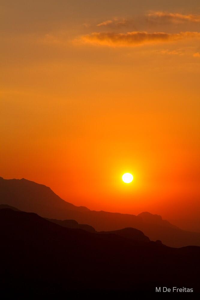 Oman,Jebel Shams by M De Freitas