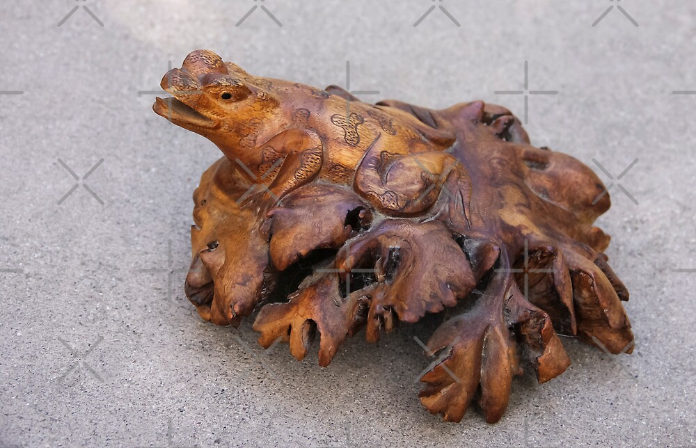 Bali Frog by Heather Friedman