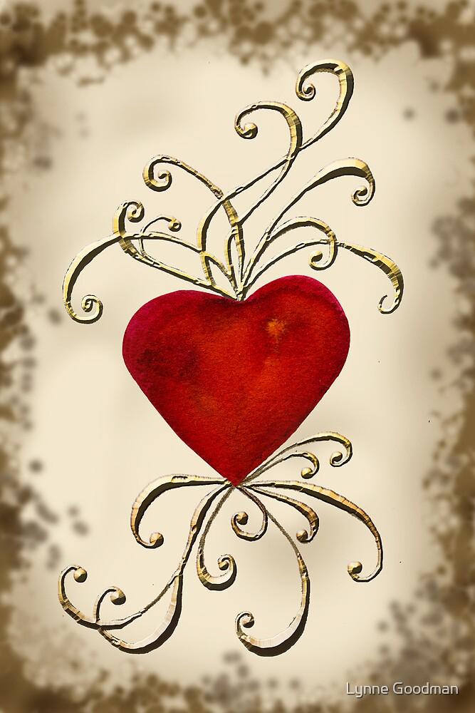 Heart Aswirl by Lynne Goodman