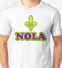 NOLA New Orleans Louisiana Unisex T-Shirt