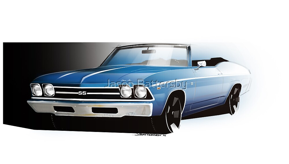 Chevrolet Chevelle 1969 by Jason Battersby