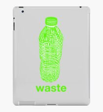 waste iPad Case/Skin