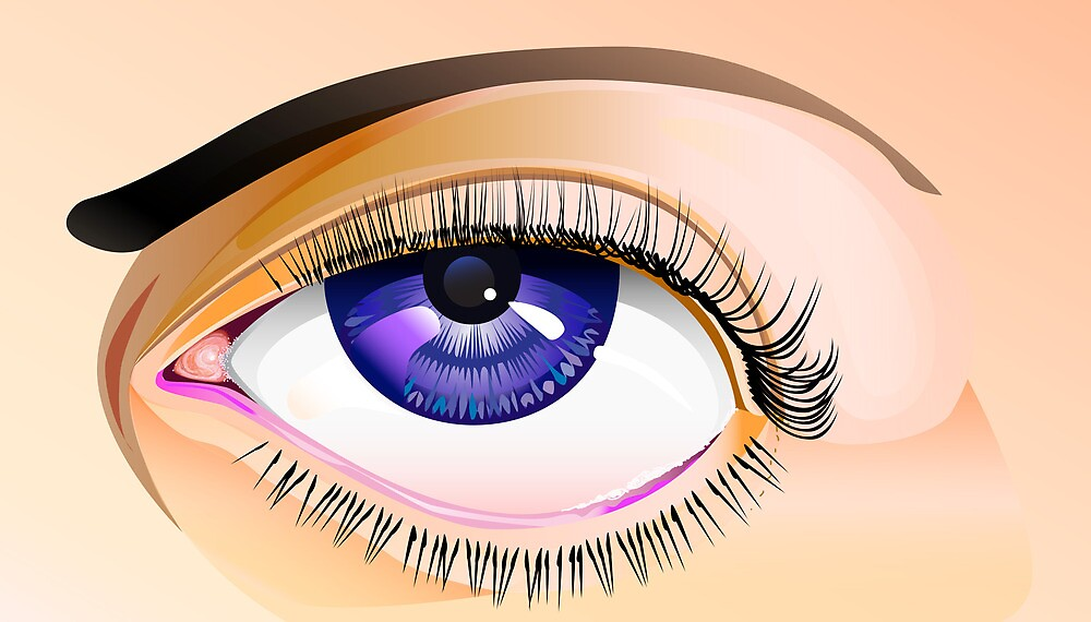Eye study by JerryWayne Anderson