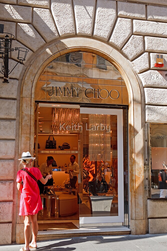 Jimmy Choo Shop Rome by Keith Larby
