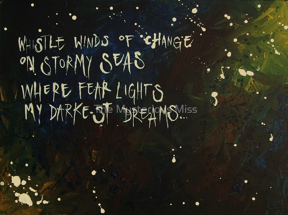 Winds Of Change by The Mysterious Miss