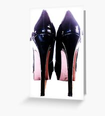 The Goddess's Heels Greeting Card