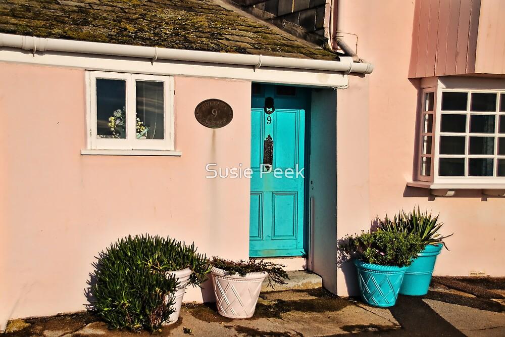 Dolphin Cottage ~ Lyme Regis by Susie Peek